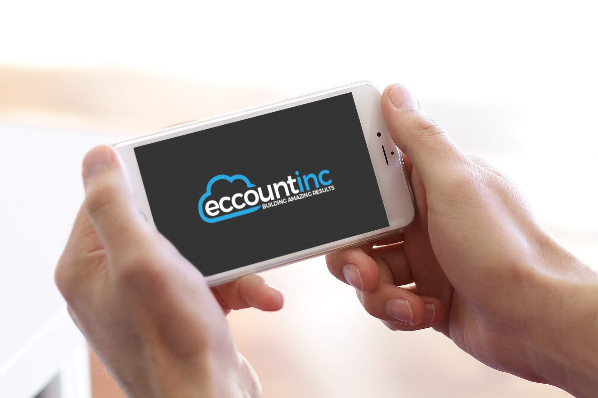 eccountinc on mobile